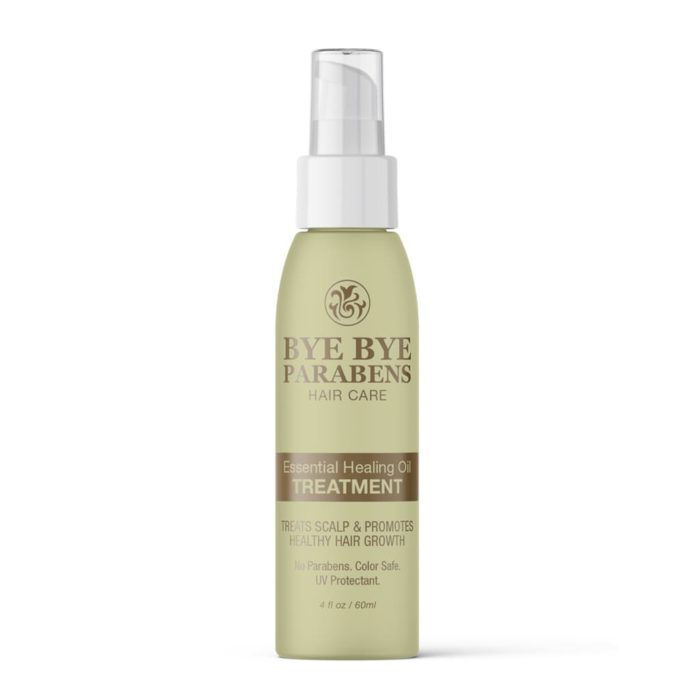 Essential Healing Oil Treatment | Bye Bye Parabens Hair Care Products