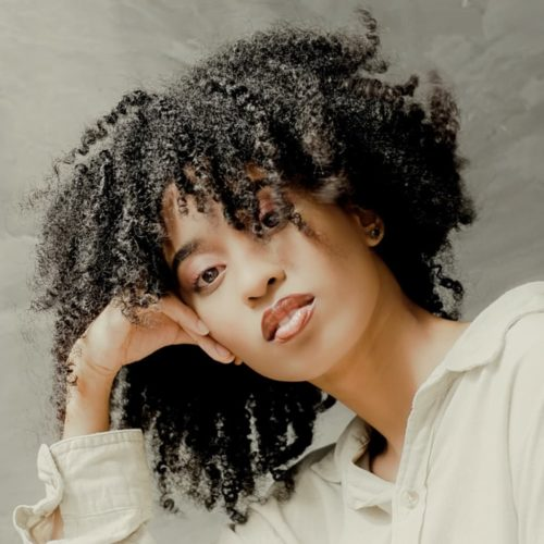 Hydrated Natural Curly Hair