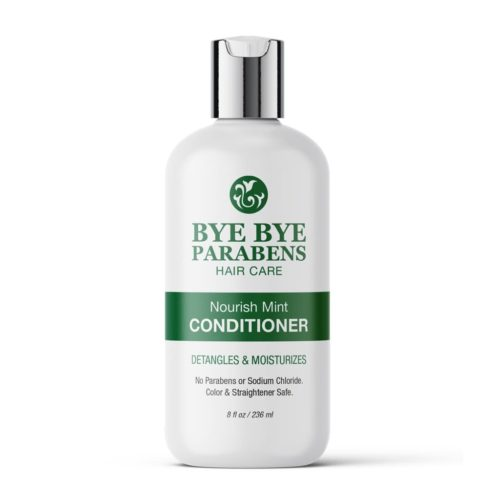 Nourish Mint Conditioner | Bye Bye Parabens Hair Care Products