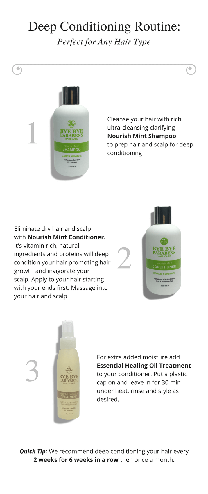 Deep Conditioning Hair Care Routine