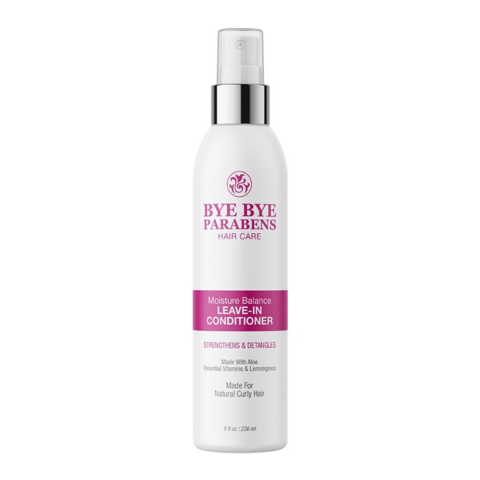Leave-in Conditioner   Bye Bye Parabens Hair Care Products
