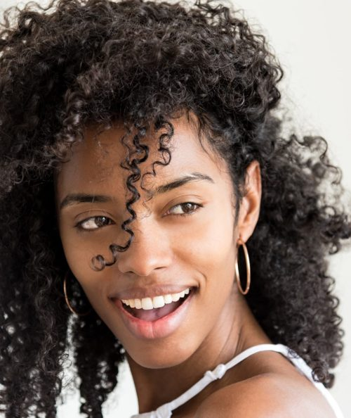 Natural Curly Hair Hydrated Curls