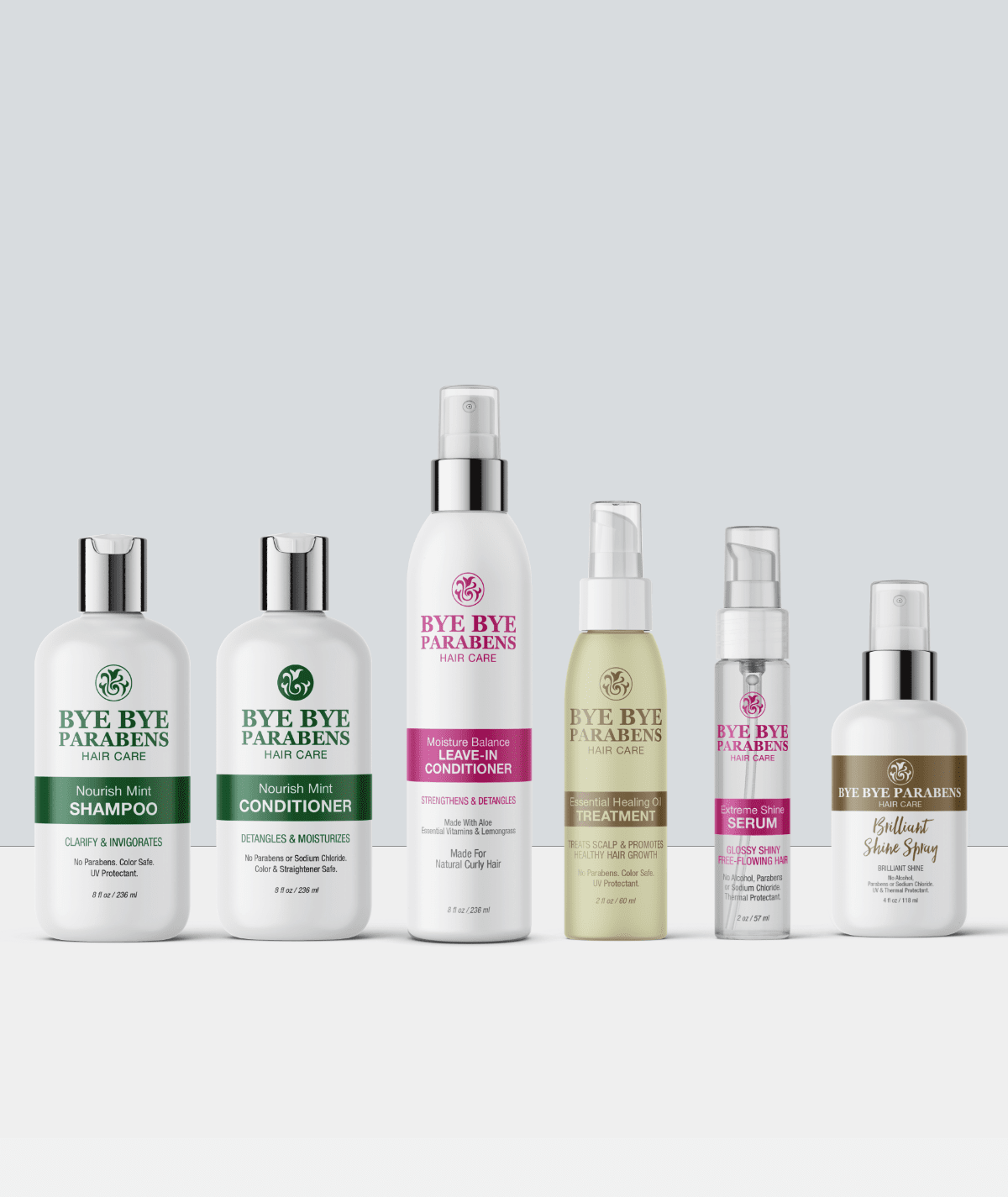 Detox Collection v2 for Natural Curly Hair Bye Bye Parabens