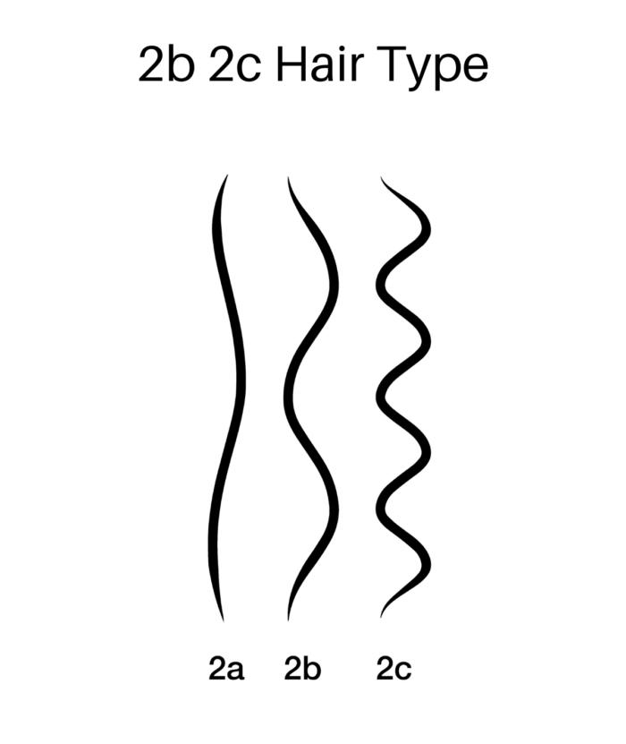 2b 2b Hair Type | Bye Bye Parabens