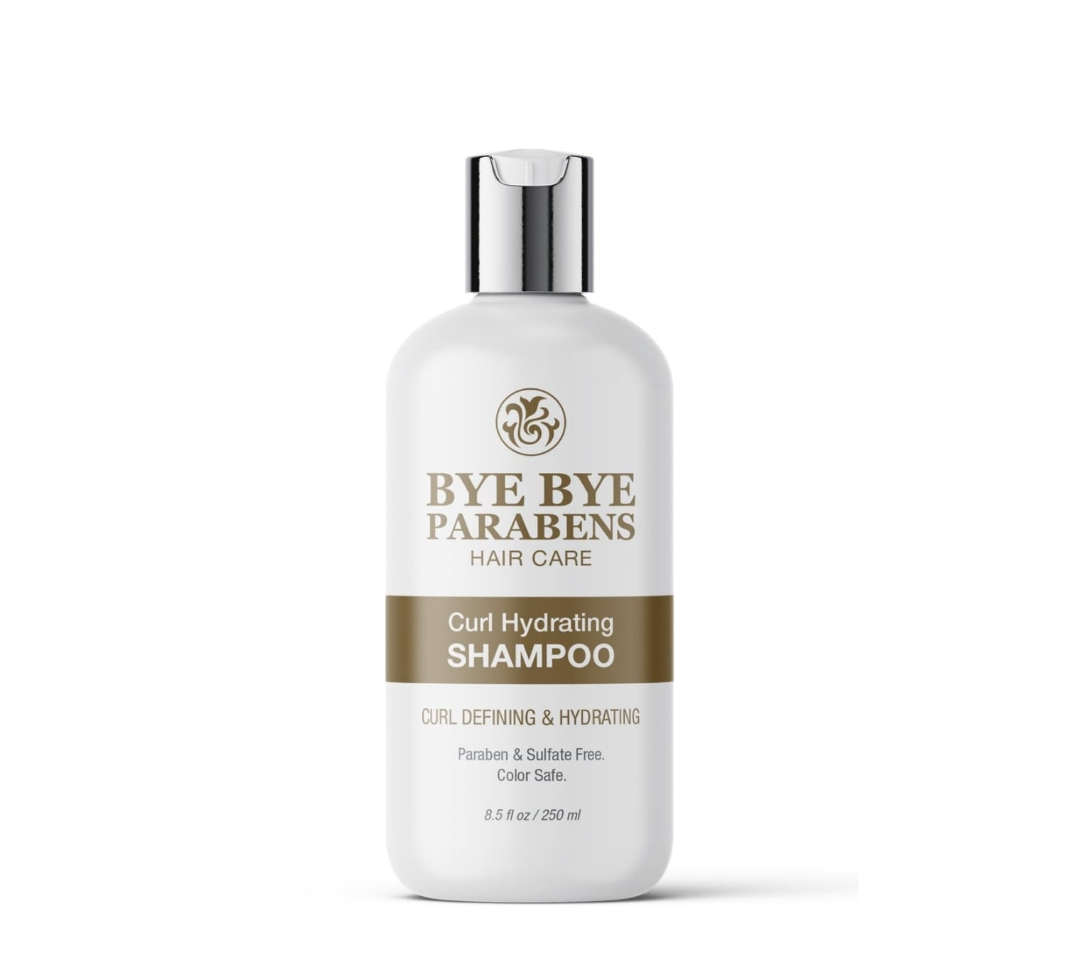 Natural hair curl hydrating shampoo Bye Bye Parabens